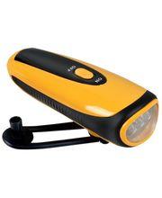 Dynamo USB nouzová nabíječka telefonu s kličkou se svítilnou