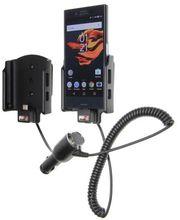 Brodit držák do auta na Sony Xperia X Compact bez pouzdra, s nabíjením z cig. zapalovače