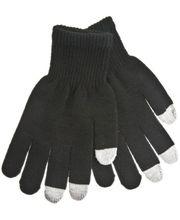 Zimní kapacitní rukavice - M - pre iPhone, iPad, HTC, Samsung, LG, Motorola, SonyEricsson - čierne