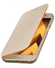 Samsung flipové pouzdro Neon EF-FA320PFE pro Galaxy A3 2017, zlatá