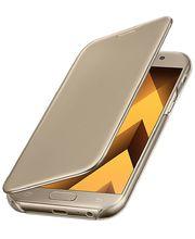 Samsung flipové pouzdro ClearView EF-ZA520CFE pro Galaxy A5 2017, zlatá